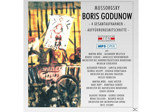 Orch.Des Nordwestdt.Rundfunks, Orch.D.Bolshoi Thea - Boris Godunow-Mp 3 Oper [MP3-CD]