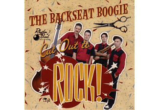 The Backseat Boogie - Cut Out To Rock - (CD)