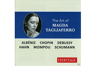 Magda Tagliaferro - The Art Of Magda Tagliaferro - (CD)