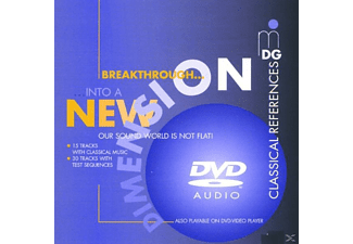 VARIOUS - Breakthrough Into A New Dimension - (DVD-Audio Album)