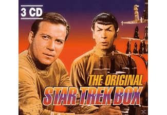 VARIOUS - THE ORIGINAL STAR TREK BOX - (CD)