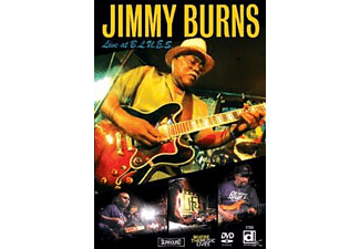 Jimmy Burns - Live At B.L.U.E.S - (DVD)