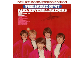 Paul Revere, The Raisers - The Spirit Of '67 - (CD)