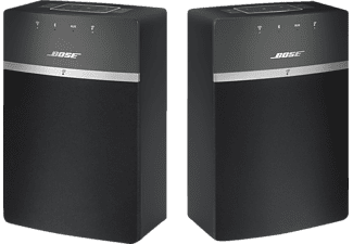 BOSE Soundtouch 10X2 Kit Wireless Starter, Multiroom Lautsprecher, Schwarz