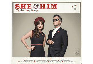 She & Him - Christmas Party - (CD)