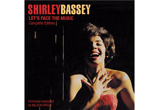 Shirley Bassey - Let's Face the Music/Born to Sing the Blues (CD)