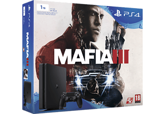 SONY Nya PlayStation 4 Slim (inkl Mafia III) - 1 TB