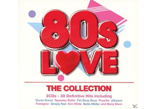 VARIOUS - 80s Love-The Colleciton - (CD)