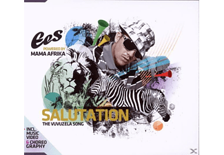 Ees Powered By Mama Afrika - SALUTATION - THE VUVUZELA-SONG - (Maxi Single CD)