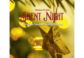 VARIOUS - Silent Night-Christmas Carols On Acoustic Guitar - (CD)