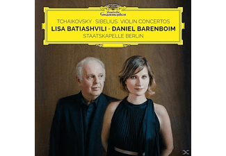 Lisa Batiashvili, Staatskapelle Berlin - Violin Concertos - (CD)
