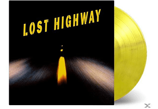 OST/VARIOUS - Lost Highway (LTD Yellow/Tip Of Black Vinyl) [Vinyl]