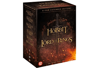 Hobbit & Lord Of The Rings Trilogy (Extended) | DVD