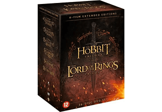 Hobbit & Lord Of The Rings Trilogy | DVD