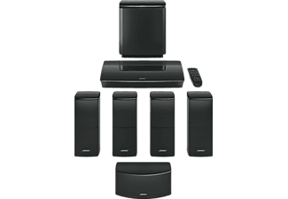 bose lifestyle 600 home entertainment system schwarz. Black Bedroom Furniture Sets. Home Design Ideas