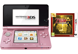 NINTENDO 3DS Rosa + Zelda: A Link Between Worlds 3DS