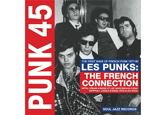 VARIOUS - Punk 45: Les Punks!The French Connection (1977-80) - (CD)