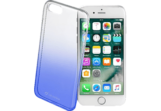 CELLULAR LINE SHADOW, Apple, Backcover, iPhone 7, iPhone 8, Kunststoff, Blau