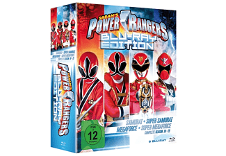 Power Rangers - Staffel 18-21 (9 Discs) [Blu-ray]