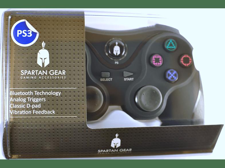 ENARXIS. Spartan Gear Wireless Bluetooth Sixaxis Controller Black gaming απογείωσε την gaming εμπειρία αξεσουάρ ps3