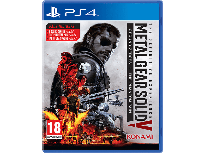 Metal Gear Solid V: The Definitive Experience PS4 gaming games ps4 games
