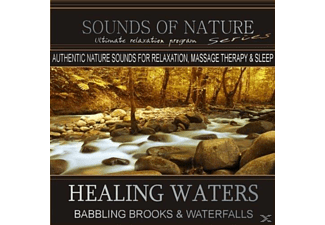 Sounds Of Nature - Healing Waters: Babbling Brooks & Waterfalls - (CD)