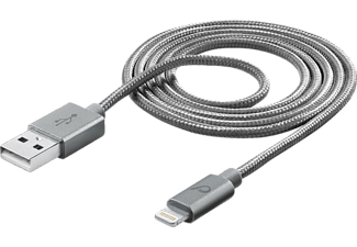 CELLULAR LINE 37264 Datenkabel, passend für Apple Universal, Grau