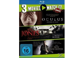 Oculus / Mr. Jones / The New Daughter - (Blu-ray)