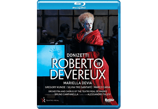 VARIOUS, Orchestra And Chorus Of The Teatro Real De Madrid - Roberto Devereux - (Blu-ray)