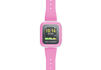 CAT CARL  Kids Tracker, Smartwatch, Verstellbar, Silikon, Pink