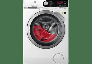 AEG L8FB74484W 8000er Serie, 8 kg Waschmaschine, Frontlader, 1400 U/Min., A+++, Weiß/Silber