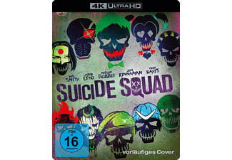 Suicide Squad (Kinofassung & Extended Cut) [4K Ultra HD Blu-ray + Blu-ray]