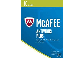McAfee 2017 AntiVirus Plus - 10 Geräte (Code in a Box)