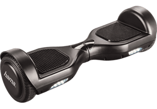 HAMA Slalom Cruiser made in Germany, selbststabilisierendes Fahrzeug, Hoverboards, 6.5 Zoll, Schwarz