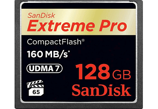 SANDISK Extreme Pro Compact Flash 160 MB/S 128 GB