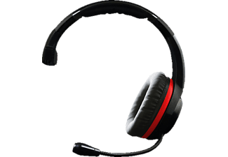 A4T Stealth Multi Format XP200, Mono Gaming-Headset, Schwarz/Rot