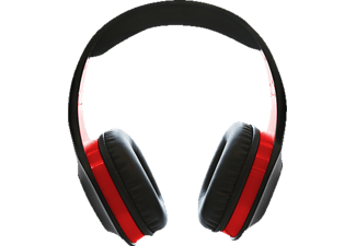 A4T Stealth Multi Format  XP400, Premium Stereo Headset Gaming-Headset, Schwarz/Rot