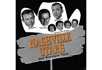 VARIOUS - Nashville Stars On Tour - (CD + Buch)