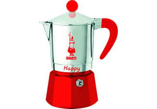 BIALETTI 8022 Happy Espressokocher Rot
