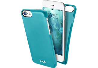 SBS MOBILE Cover ColorFeel iPhone 7 - Ljusblå
