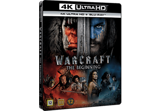 Warcraft Äventyr 4K Ultra HD Blu-ray + Blu-ray