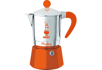 BIALETTI 8042 Happy Espressokocher Orange