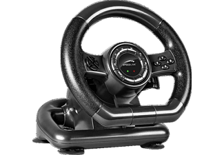 SPEEDLINK SL-650300-BK Black Bolt PC Racing Wheel Gaming Lenkrad