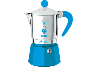 BIALETTI 8062 Happy Espressokocher Blau