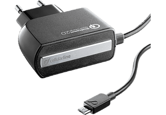 CELLULAR LINE Travel Charger - (ACHMUSBQUALCOMK)