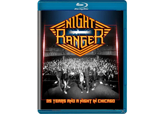 Night Ranger - 35 Years And A Night In Chicago - (Blu-ray)