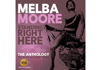 Melba Moore - Standing Right Here-Antology: Buddah & Epic Years - (CD)