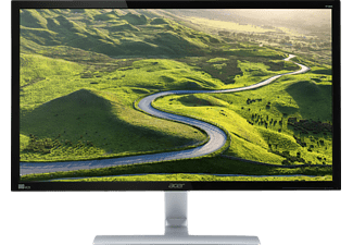 ACER RT280HK, Monitor mit 71 cm / 28 Zoll UHD 4K Display, 1 ms Reaktionszeit, Anschlüsse: 1x Dual Link DVI, 1x HDMI2.0(MHL), 1x DP(1.2) + Audio in/out