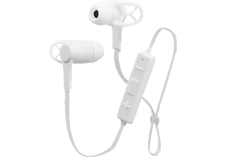 ISY Bluetooth In-Ear-Headset, white, In-ear Kopfhörer, Headsetfunktion, Bluetooth, Weiß