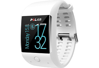 POLAR  M600, Smartwatch, 130-230 mm, Silikon, Weiß